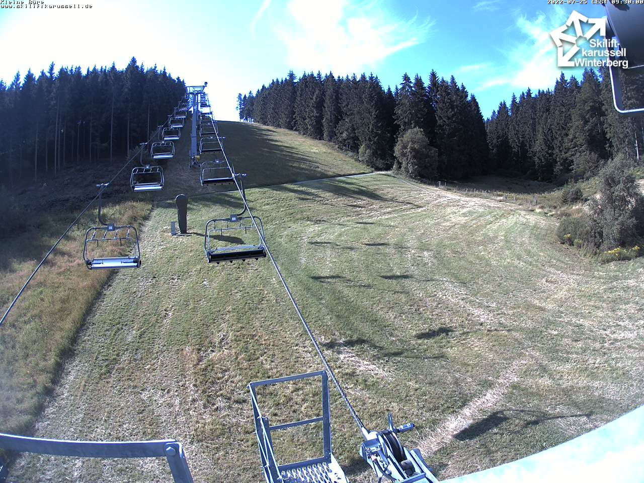 Skiliftkarussell Winterberg - Webcam 10