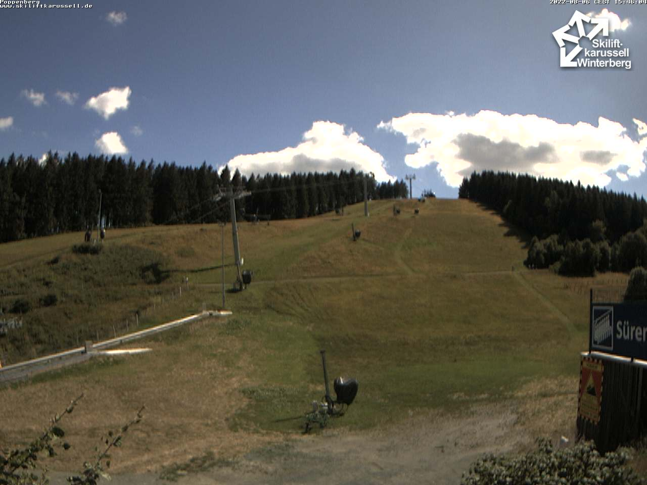 Webcam Skiliftkarussell Winterberg