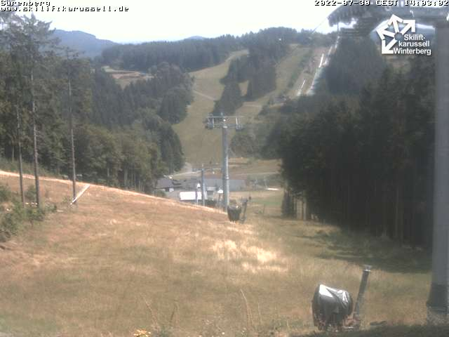 Skiliftkarussell Winterberg - Webcam 11